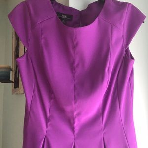 Magenta semi formal dress